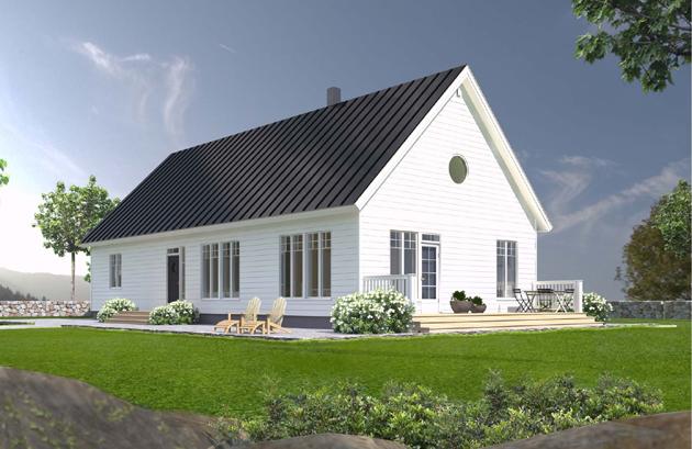Julkisivukuva - Jetta-Talo, Skoone 135