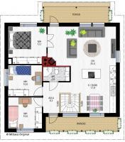 Pohjapiirros 1: Mittava Koti, Ruusu 149
