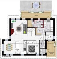 Pohjapiirros 1: Mittava Koti, Emilia 153
