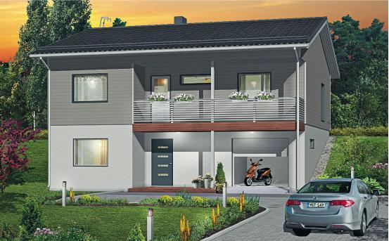 Iso - Talomalli: Mittava Koti, Ruusu 149