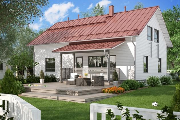 Talomalli  Design Talo, Moderni Käpylä D15 196